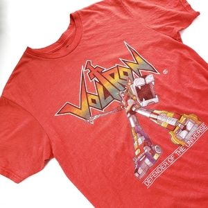 Voltron Defender of the Universe T-shirt - Med